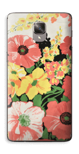 Vintage blomstermønstre Skin OnePlus 3T