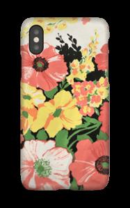 Vintage blomstermønstre deksel IPhone X
