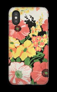 Vintage blomstermønstre deksel IPhone X tough