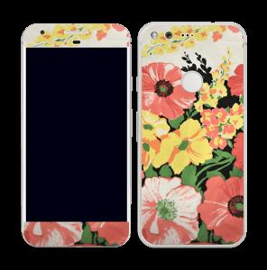 Vintage blomstermønstre Skin Pixel