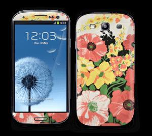 Vintage blomstermønstre Skin Galaxy S3