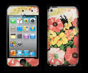 Vintage blomstermønstre Skin IPod Touch 4th Gen
