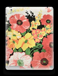 Vintage blomstermønstre Skin IPad 4/3/2