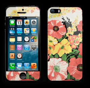 Vintage blomstermønstre Skin IPhone 5s