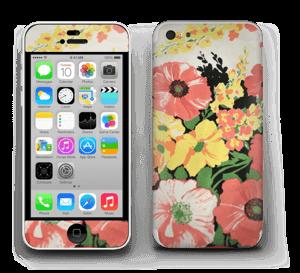 Vintage blomstermønstre Skin IPhone 5c
