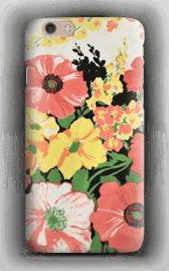 Vintage blomstermønstre deksel IPhone 6