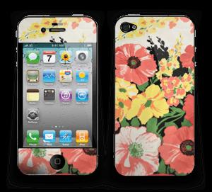 Vintage blomstermønstre Skin IPhone 4/4s