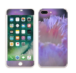 Lilla blomst Skin IPhone 7 Plus