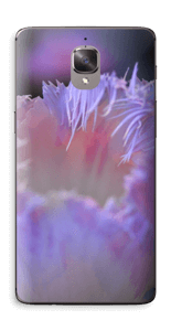 Lilla blomst Skin OnePlus 3