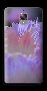 Lilla blomst Skin OnePlus 3T