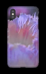 Lilla blomst deksel IPhone X