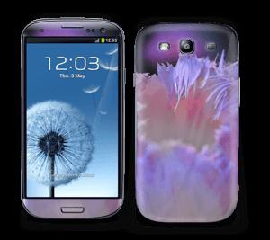 Lilla blomst Skin Galaxy S3