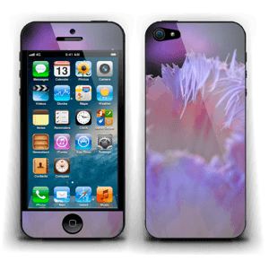 Lilla blomst Skin IPhone 5