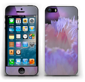 Lilla blomst Skin IPhone 5s