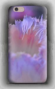 Lilla blomst deksel IPhone 6