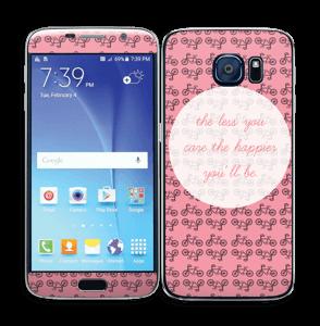 Happy sykling Skin Galaxy S6