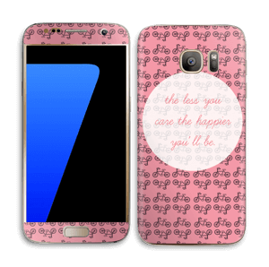 Happy sykling Skin Galaxy S7