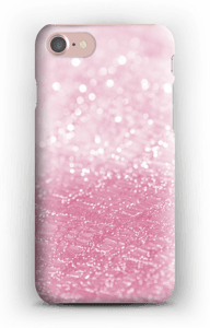 Rosa glitter deksel IPhone 7