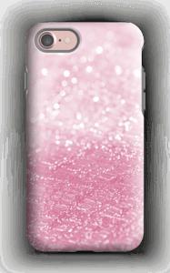 Rosa glitter deksel IPhone 7 tough