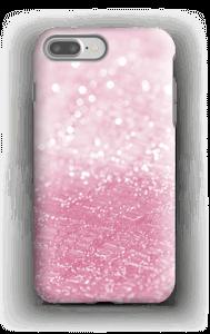 Rosa glitter deksel IPhone 7 Plus tough