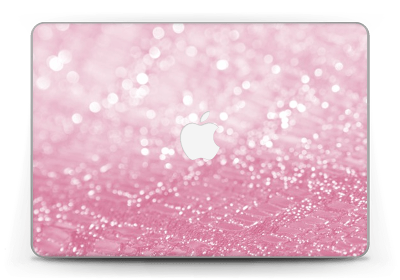 Rosa glitter Skin MacBook Pro Retina 13