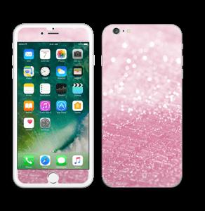 Rosa glitter Skin IPhone 6 Plus