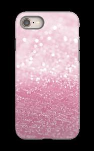 Rosa glitter deksel IPhone 8 tough
