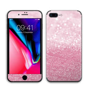 Rosa glitter Skin IPhone 8 Plus