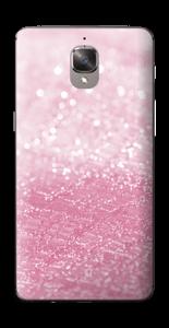 Rosa glitter Skin OnePlus 3T