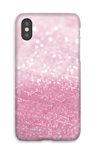 Rosa glitter deksel IPhone X