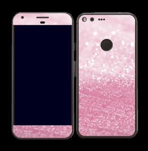 Rosa glitter Skin Pixel XL