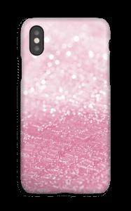 Rosa glitter deksel IPhone XS