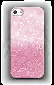 Rosa glitter deksel IPhone 5/5S