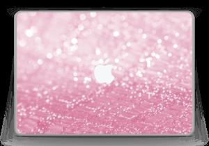 Rosa glitter Skin MacBook Pro 13