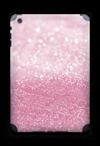 Rosa glitter Skin IPad mini 2 back
