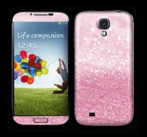Rosa glitter Skin Galaxy S4