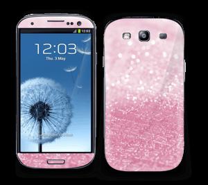 Rosa glitter Skin Galaxy S3
