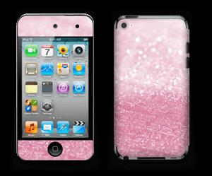 Rosa glitter Skin IPod Touch 4th Gen