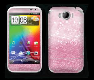 Rosa glitter Skin Sensation XL