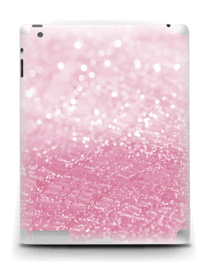 Rosa glitter Skin IPad 4/3/2