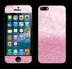 Rosa glitter Skin IPhone 5s