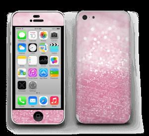 Rosa glitter Skin IPhone 5c