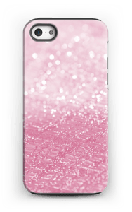Rosa glitter deksel IPhone 5/5s tough