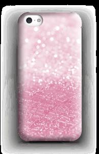 Rosa glitter deksel IPhone 5c