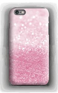 Rosa glitter deksel IPhone 6 Plus tough