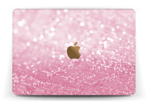 Rosa glitter Skin MacBook 12""