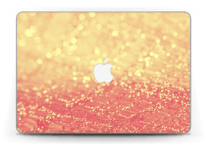 "Orange glitter Skin MacBook Pro Retina 13"" 2015"