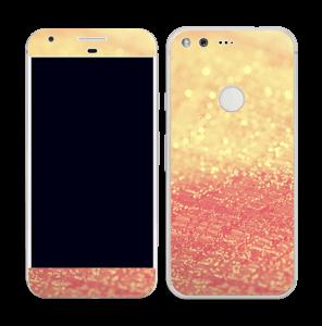 Orange glitter Skin Pixel