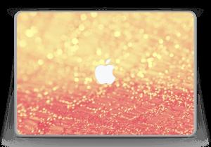 "Orange glitter Skin MacBook Pro 13"" -2015"