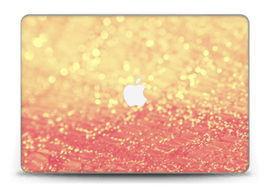 "Orange glitter Skin MacBook Pro Retina 15"" 2015"